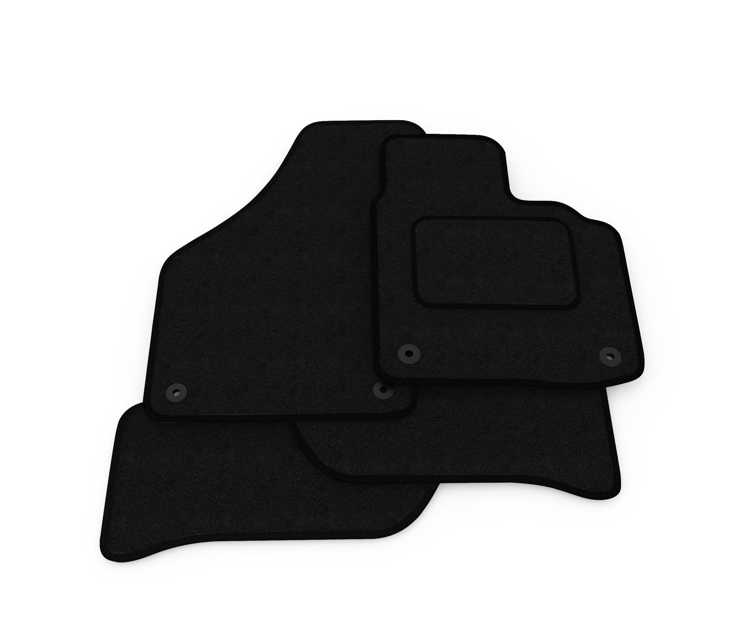 Vauxhall Corsa E 2014-Present Fully Tailored Black Car Carpet Boot Mat